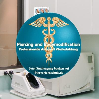 Piercerfernlehrgang: Hygiene im Studio und am Kunden I Ausbildung zum Piercer auf Piercerfernschule.de